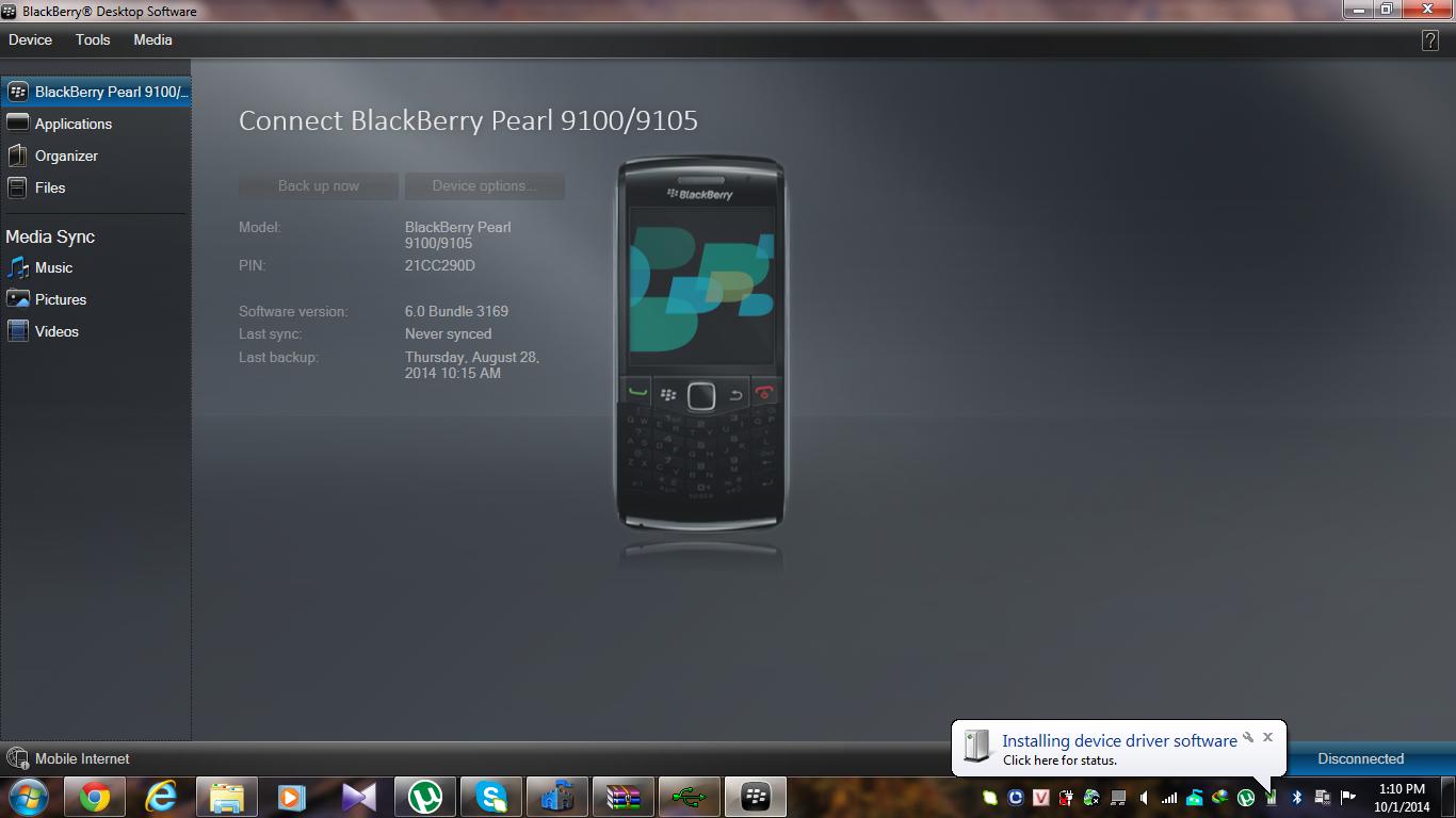 01/10] Thủ Thuật – Khắc phục BDM không nhận BlackBerry | The