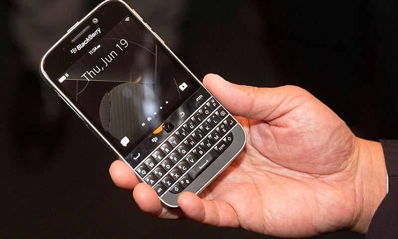 pin blackberry classic