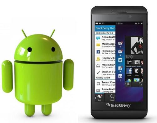 Blaccberry-Android